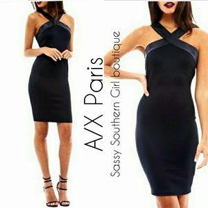 🆕⭐A/X Paris Black  bodycon dress ⭐
